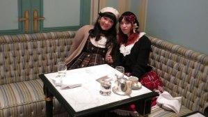 Joan and I!
