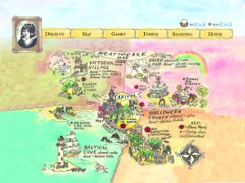 Each area would have its own unique games to play and things to do.